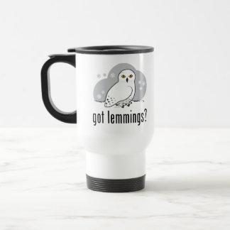 got lemmings? 15 oz stainless steel travel mug
