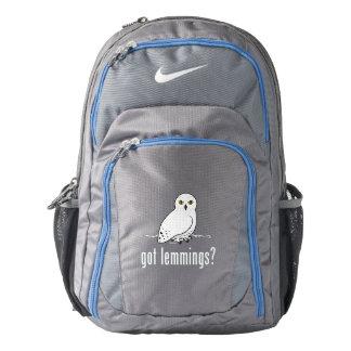 got lemmings? nike backpack