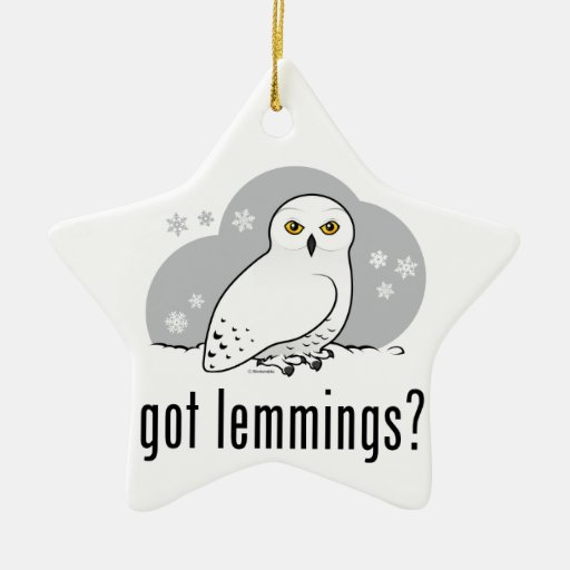 got lemmings? ornaments
