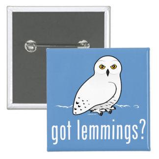 got lemmings? pinback button