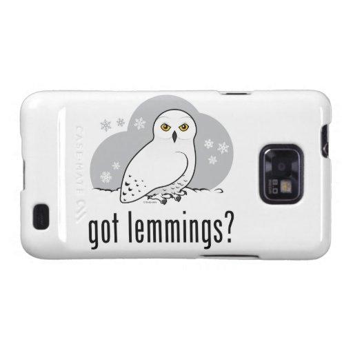 got lemmings? samsung galaxy SII cover