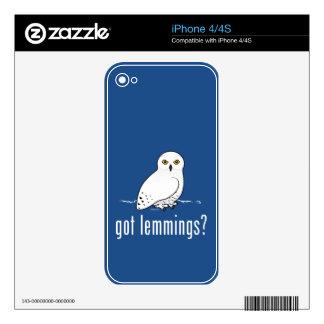 got lemmings? skins for iPhone 4S