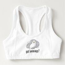 got lemmings? sports bra