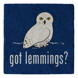 got lemmings? trivet