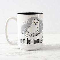 got lemmings? Two-Tone coffee mug