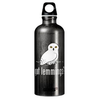 got lemmings? water bottle