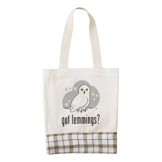 got lemmings? zazzle HEART tote bag