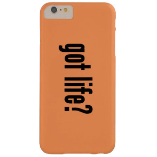 got life? barely there iPhone 6 plus case