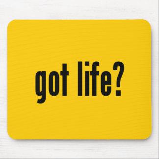 got life? mouse pad