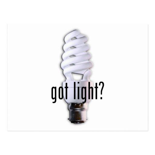 Got Light? Post Cards
