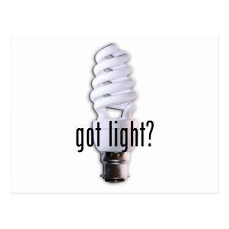 Got Light? Postcard