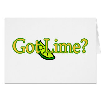 Got Lime Card