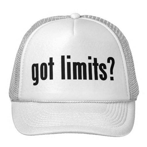 got limits? trucker hat