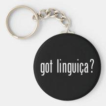 got linguica? keychains