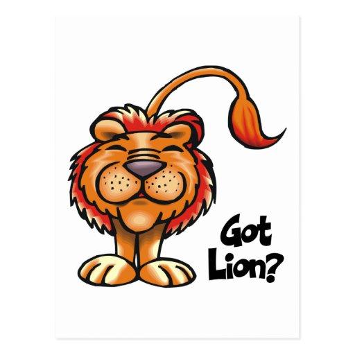 Got Lion Postcards