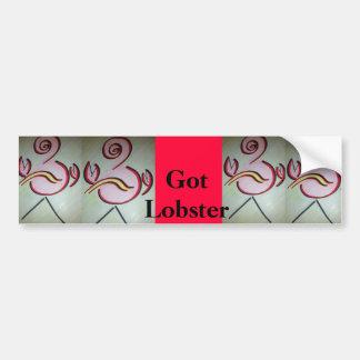 Got Lobster ? Bumper Sticker