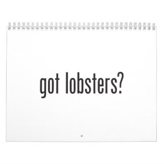 got lobsters calendars