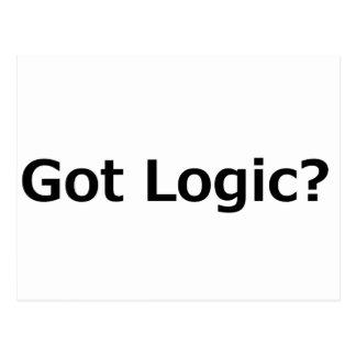 Got Logic? Postcard