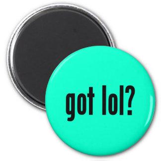 got lol? 2 inch round magnet