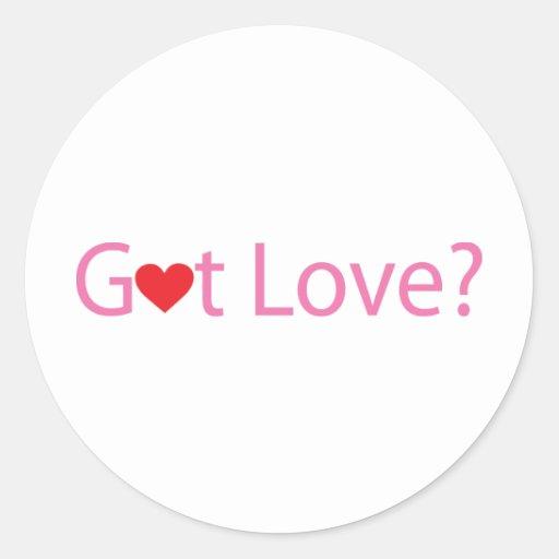 Got Love Round Sticker