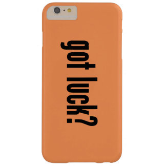 got luck? barely there iPhone 6 plus case