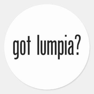 Got Lumpia Round Stickers