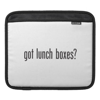 got lunch boxes iPad sleeve
