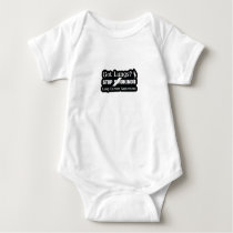 Got Lungs? Stop Smoking Lung Cancer Awareness Baby Bodysuit