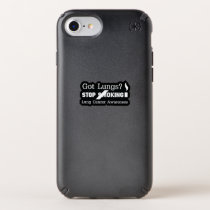 Got Lungs? Stop Smoking Lung Cancer Awareness Speck iPhone Case