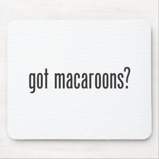 got macaroons mouse pad