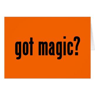 got magic? card