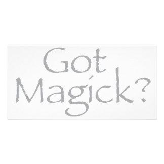 Got Magick? Photo Card Template