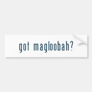 got magloobah bumper stickers