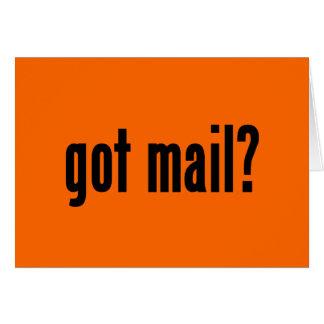got mail? card