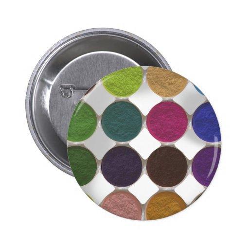 Got Makeup? - Eyeshadow palette 2 Inch Round Button