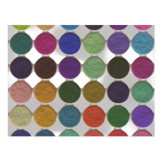 Got Makeup? - Eyeshadow palette Postcard
