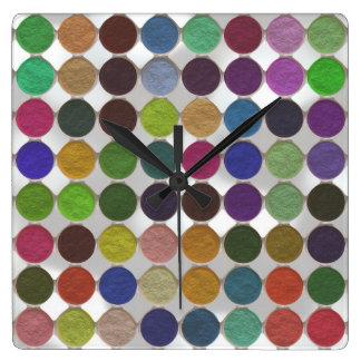 Got Makeup? - Eyeshadow palette Square Wallclock