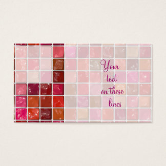 Got Makeup? - Lipstick box Business Card
