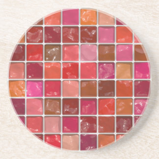 Got Makeup? - Lipstick box Sandstone Coaster