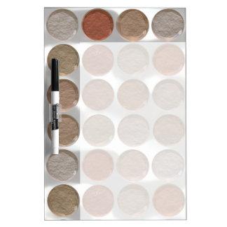 Got Makeup? - Pressed Powder foundation palette Dry-Erase Whiteboard