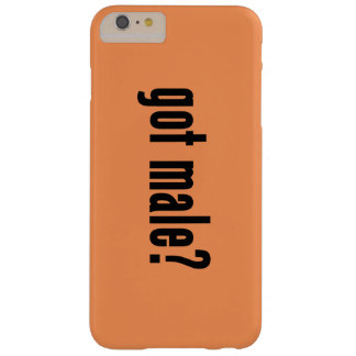 got male? barely there iPhone 6 plus case