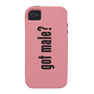 got male? vibe iPhone 4 case