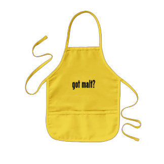 got malt? kids' apron