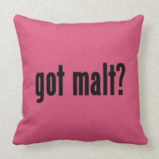 got malt? pillows