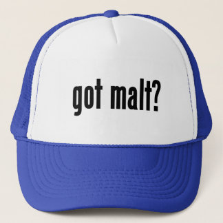 got malt? trucker hat