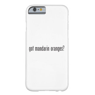 got mandarin oranges barely there iPhone 6 case