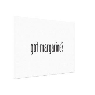got margarine canvas print