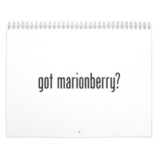 got marionberry calendar
