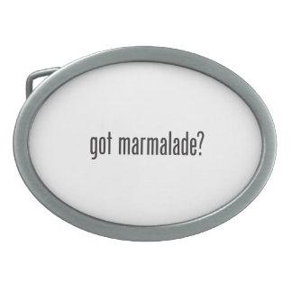 got marmalade oval belt buckles