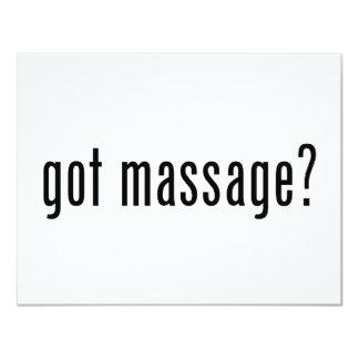 Got Massage? Card